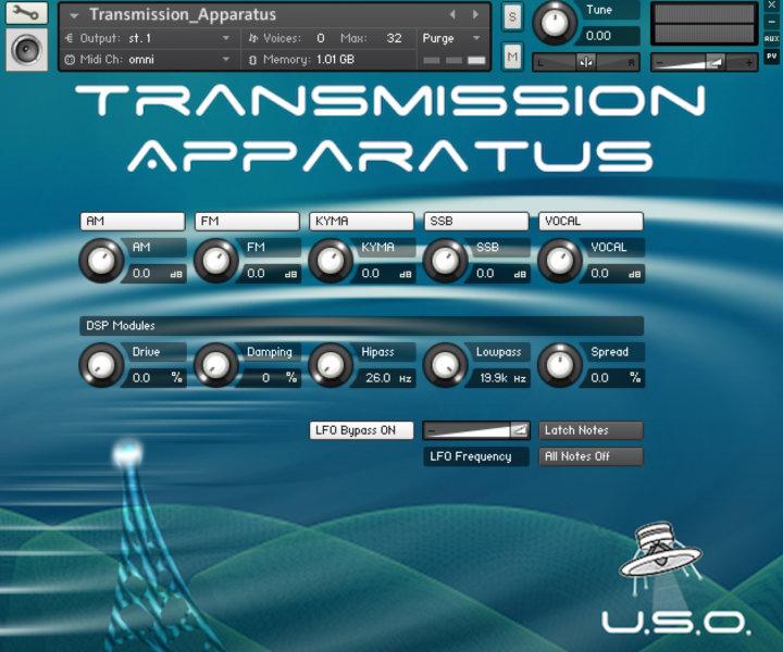 Unidentified Sound Object - Sound Effects Libraries - Sound Design - Matteo Milani - Transmission Apparatus