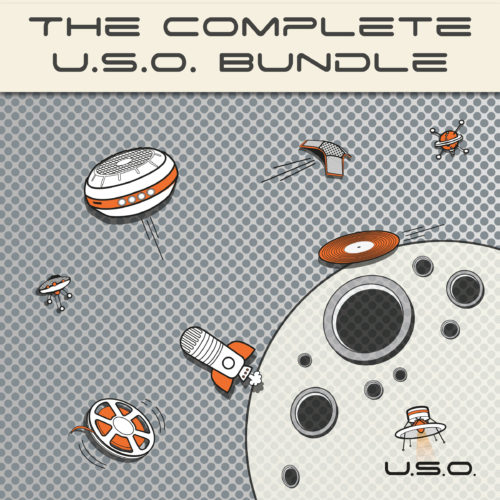 Unidentified Sound Object - Sound Effects Libraries - Sound Design - Matteo Milani - The Complete U.S.O. Bundle
