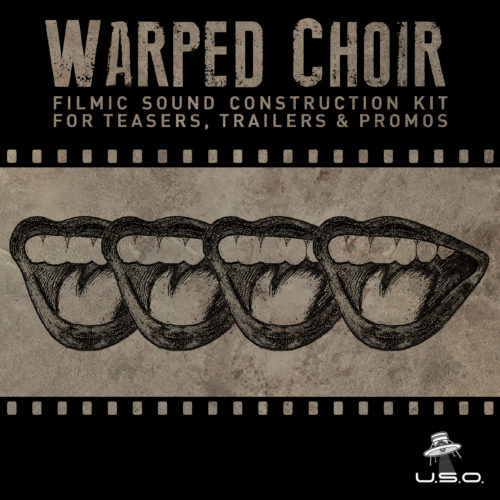 Unidentified Sound Object - Sound Effects Libraries - Sound Design - Matteo Milani - Warped Choir
