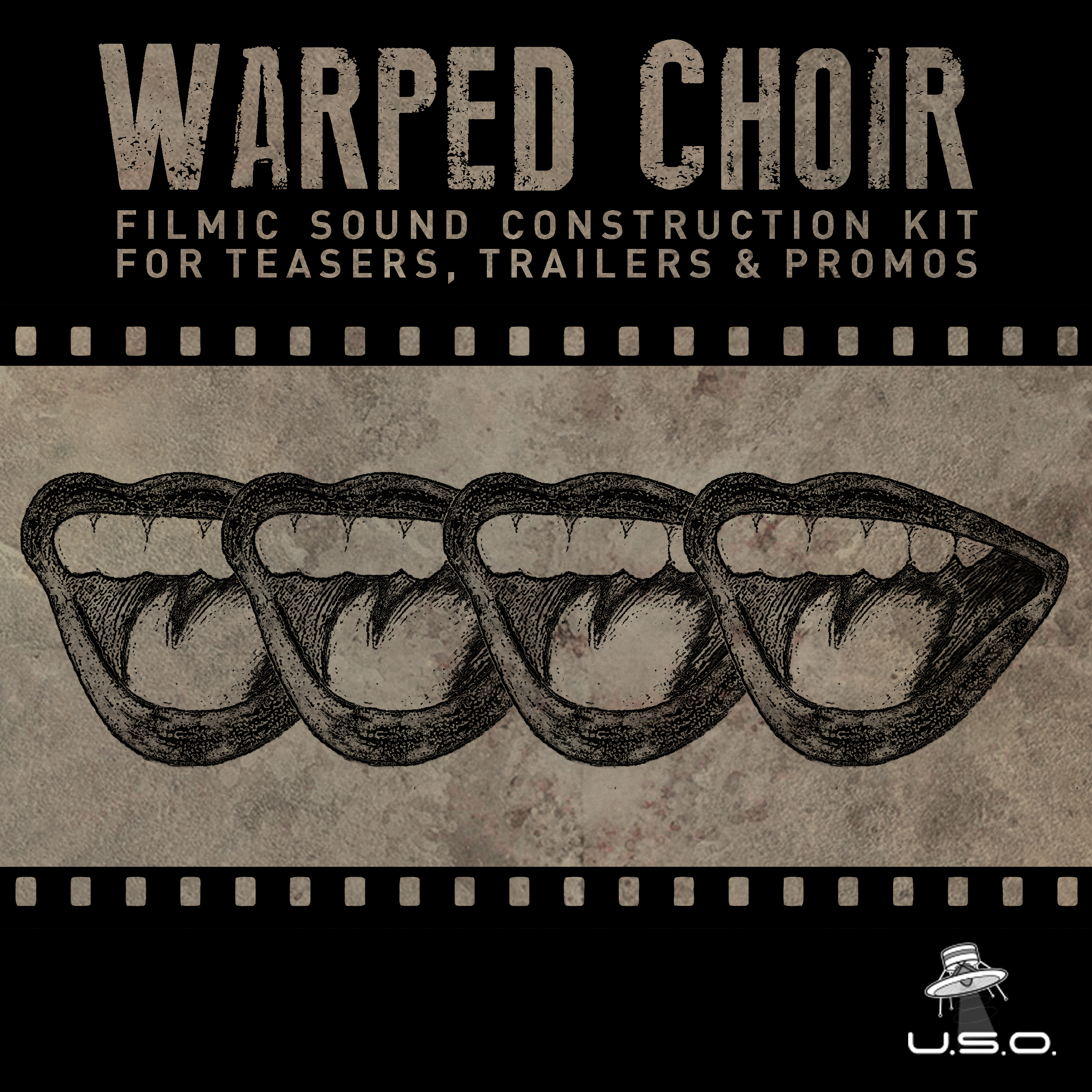 Warped Choir - a filmic sound construction kit