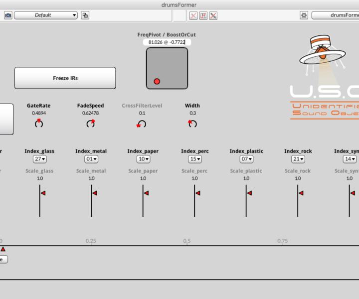 Unidentified Sound Object - Sound Effects Libraries - Sound Design - Matteo Milani - Kyma - drumsFormer