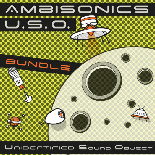 Unidentified Sound Object - Sound Effects Libraries - Sound Design - Matteo Milani - Ambisonics U.S.O. Bundle