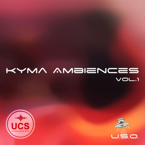 Unidentified Sound Object - Sound Effects Libraries - Sound Design - Matteo Milani - Kyma Ambiences vol.1