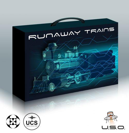 Unidentified Sound Object - Sound Effects Libraries - Sound Design - Matteo Milani - Runaway Trains
