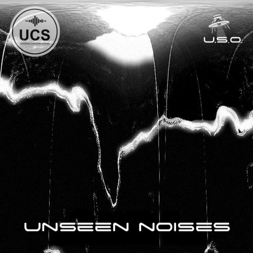 Unidentified Sound Object - Sound Effects Libraries - Sound Design - Matteo Milani - Unseen Noises